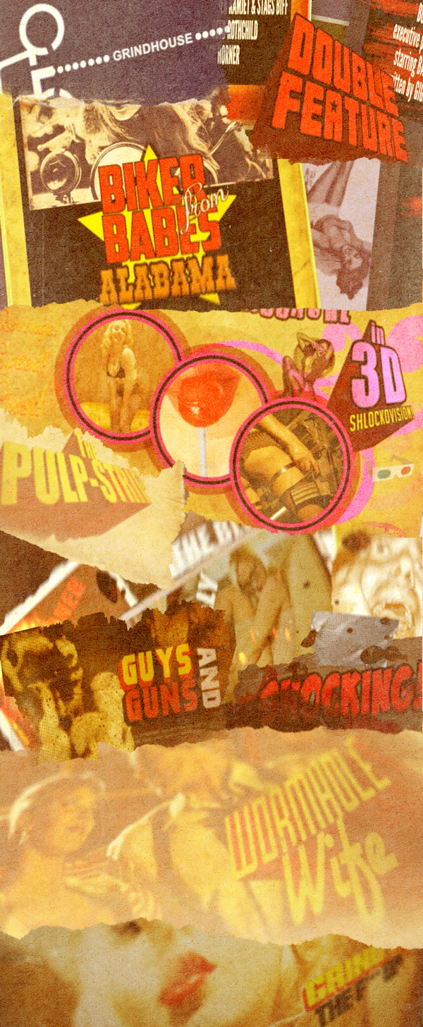 grindhouse poster template - the ultimate grindhouse collection v2 openers download